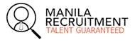Logo Recruit Staff for Jobs in Philippines by the Manila Recruitment agency